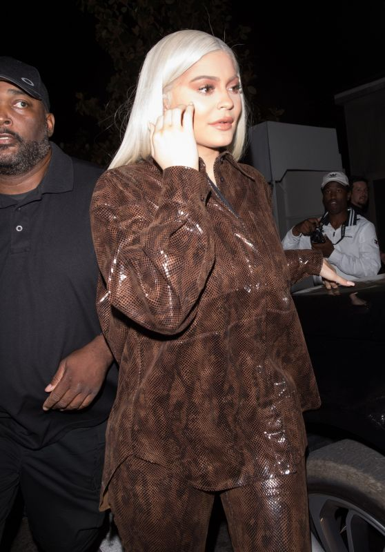 "Kylie Jenner - Leaving ""StassieBaby"" Birthday Dinner at TAO in Hollywood 06/09/2018"