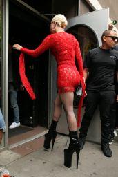 Lady Gaga - Electric Lady Studios in NYC 06/27/2018