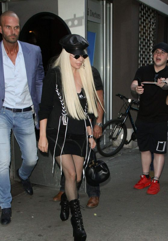 Lady Gaga - Leaving a Recording Studio in NYC 06/25/2018