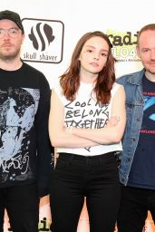 Lauren Mayberry (Chvrches) - Performs Live at Radio 104.5 in New Jersey 06/17/2018