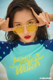 Lee Sunmi - Photoshoot for HEAD x KIRSH 2018