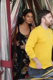 Lily Aldridge and Caleb Followill - Dinner Date in Los Angeles 06/18/2018