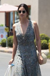 Lily Aldridge - Shopping at Isabel Marant in West Hollywood 06/20/2018