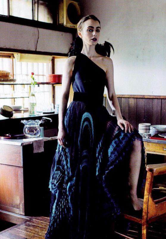 Lily Collins - Vogue Japan Photoshoot, June 2018