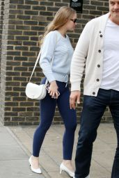 Lily-Rose Depp - Arriving at a Studio in London 06/12/2018
