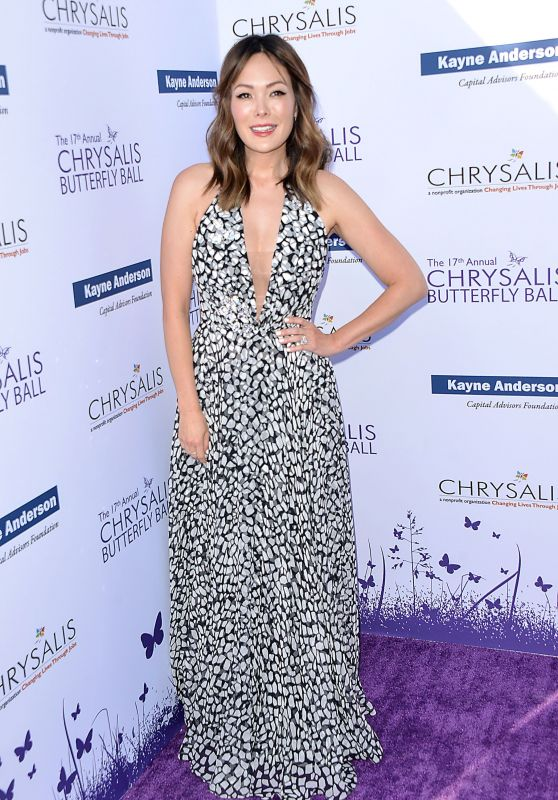 Lindsay Price - 2018 Chrysalis Butterfly Ball in LA