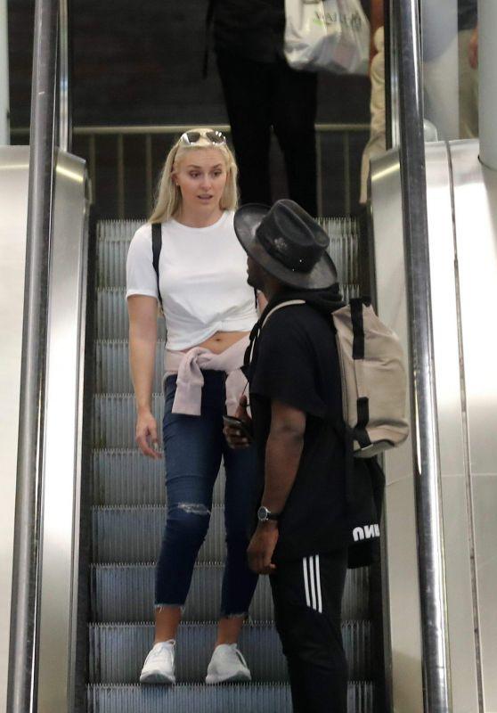 Lindsey Vonn - Roissy Airport in Paris 06/25/2018