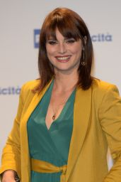 Lorena Bianchetti – Presentation Palinsesti Rai in Milan 06/27/2018