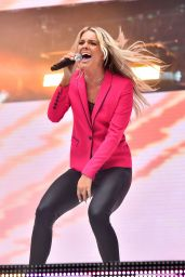 Louisa Johnson – Performs at Capital FM Summertime Ball in London