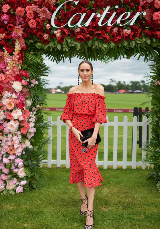 Louise Roe – Cartier Queens Cup Polo in Windsor 06/17/2018