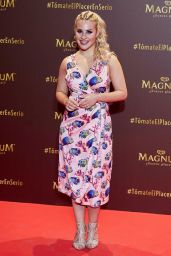 """Lucia Gil – """"Magnum"""" Campaign Launch in Madrid 06/13/2018"""