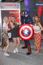 "Lucy Fallon – ""Marvel Summer of Super Heroes"" Opening Ceremony at Disneyland Paris"
