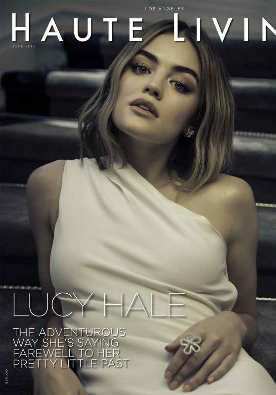 Lucy Hale - Haute Living June 2018
