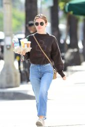 Lucy Hale Street Style - Out in Los Angeles 06/18/2018