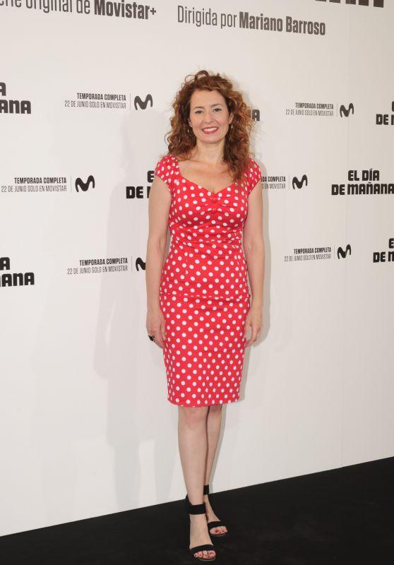 """Lupe Roda – """"El Dia de Manana"""" Premiere in Madrid"""