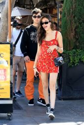 Madison Beer and Boyfriend Zack Bia at Il Pastaio Restaurant in Beverly Hills 06/11/2018