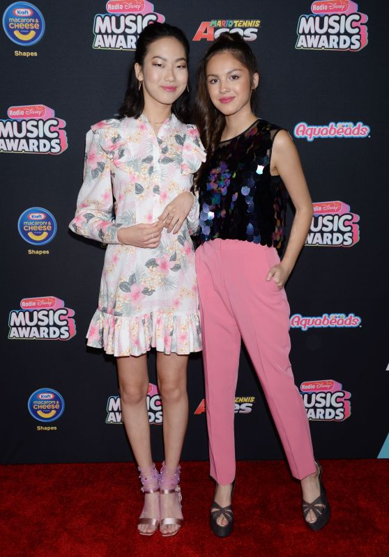Madison Hu and Olivia Rodrigo – 2018 Radio Disney Music Awards in LA