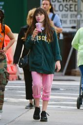 Malina Weissman Grabs a Red Juice on the Upper East Side in NY 06/12/2018
