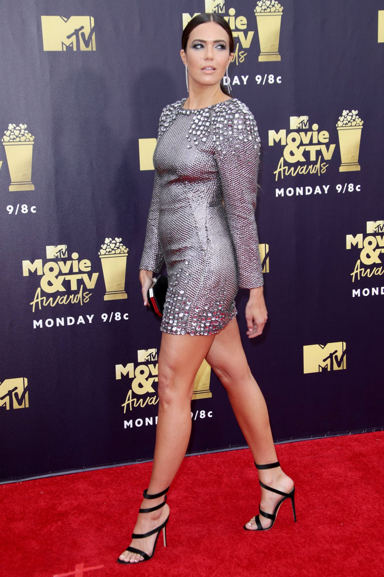 Mandy Moore 2018 Mtv Movie And Tv Awards In Santa Monica
