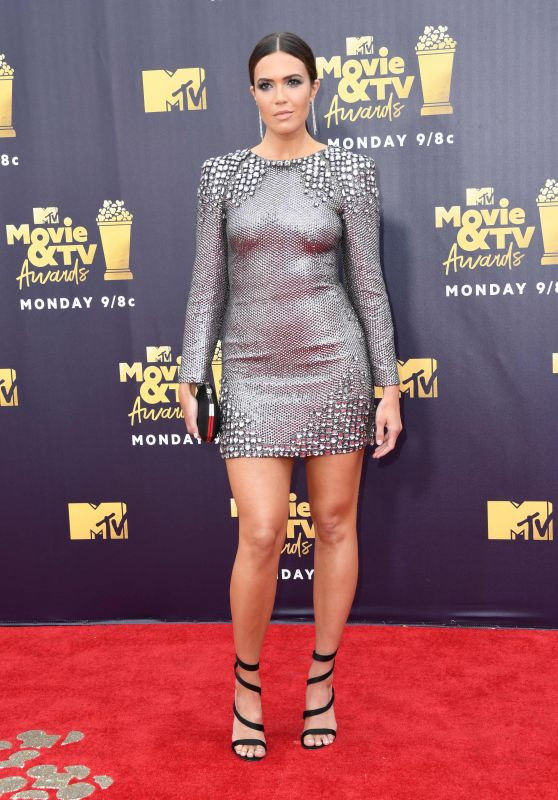 Mandy Moore – 2018 MTV Movie And TV Awards in Santa Monica