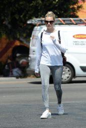 Margot Robbie Street Style - Bluestone Lane Cafe in LA 06/28/2018