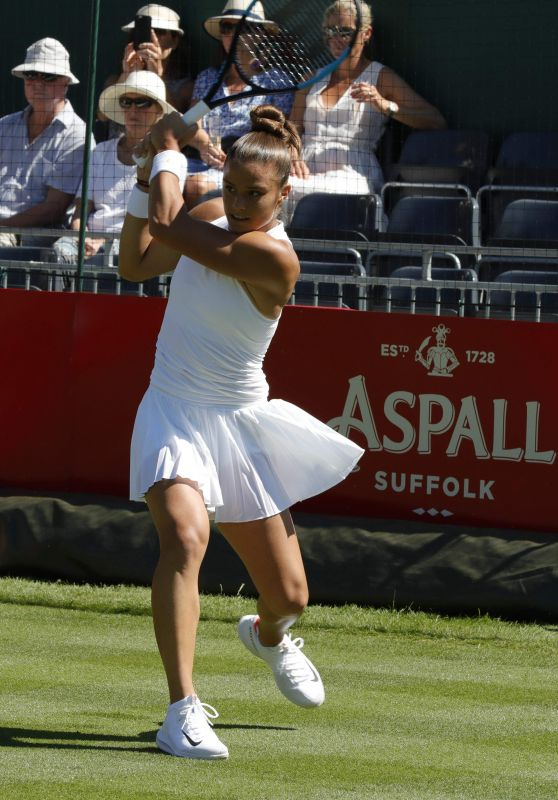 Maria Sakkari - Aspall Tennis Classic Match in London 06/26/2018