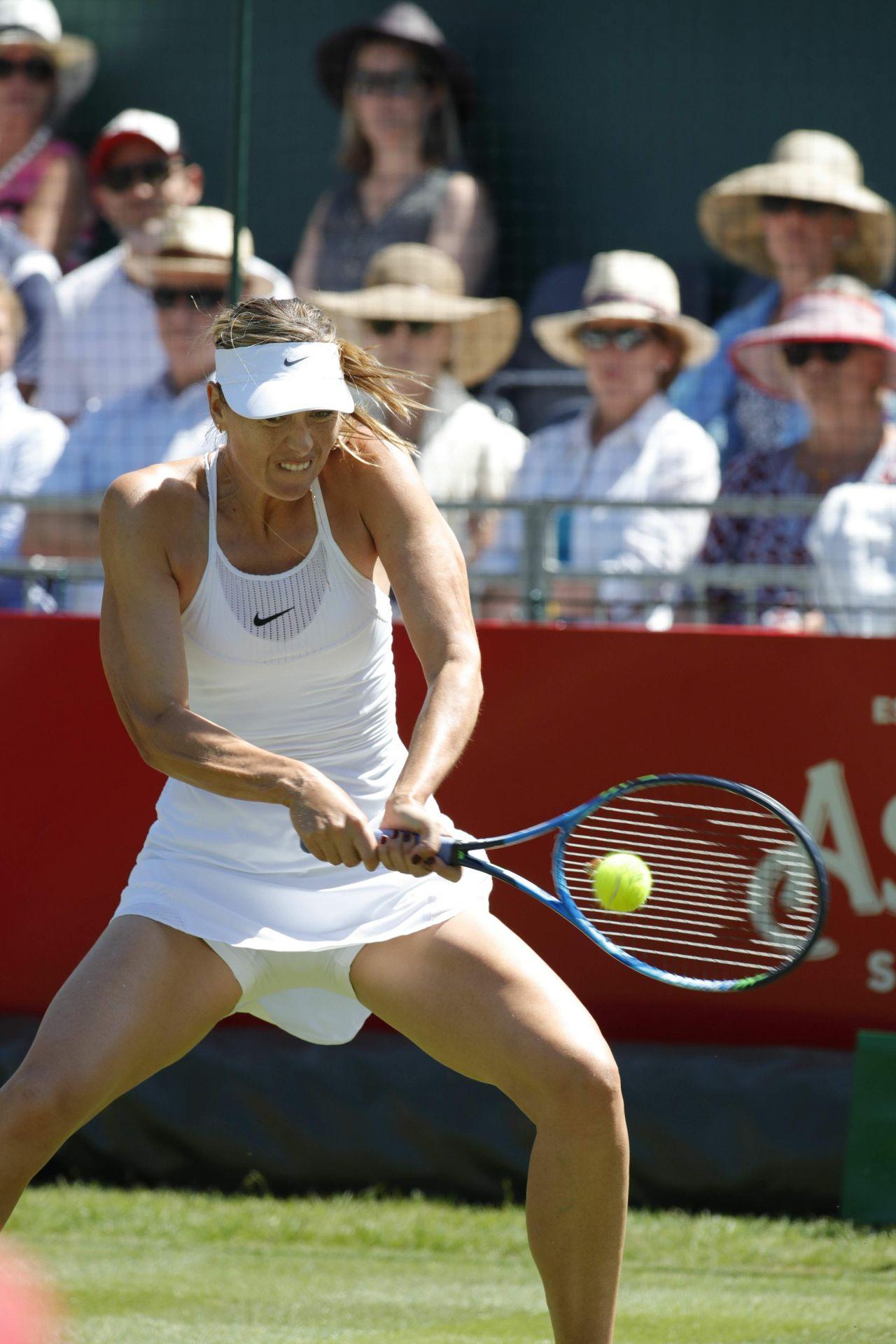 Maria Sharapova Aspall Tennis Classic Match In London 06