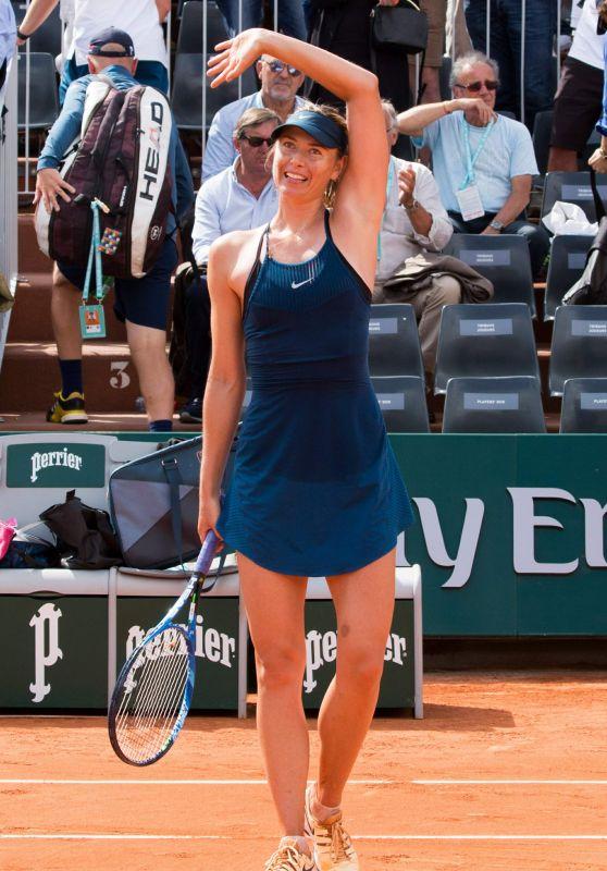 Maria Sharapova – French Open Tennis Tournament in Paris 05/31/2018
