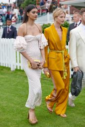 Martha Hunt – Cartier Queens Cup Polo in Windsor 06/17/2018