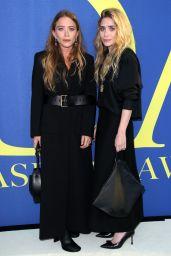 Mary-Kate Olsen and Ashley Olsen – 2018 CFDA Fashion Awards in NYC
