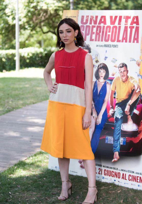 """Matilda de Angelis - """"Una Vita Spericolata"""" Photocall in Rome"""