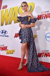 """Meg Donnelly - Marvels """"Antman and the Wasp"""" Premiere in LA"""