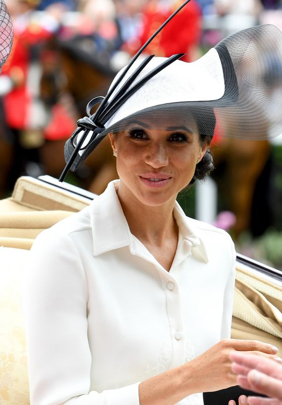 Meghan Markle - Day one of Royal Ascot in Ascot 06/19/2018