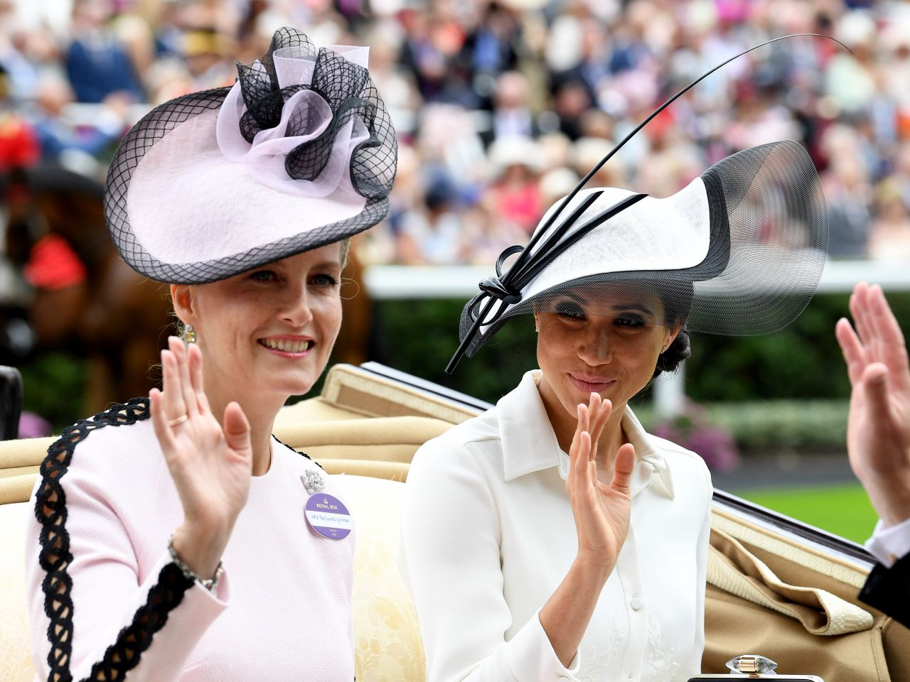 Meghan Markle Day One Of Royal Ascot In Ascot 06 19 2018