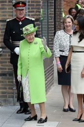 Meghan Markle (The Duchess Of Sussex) and Queen Elizabeth II First Solo Outing 06/14/2018