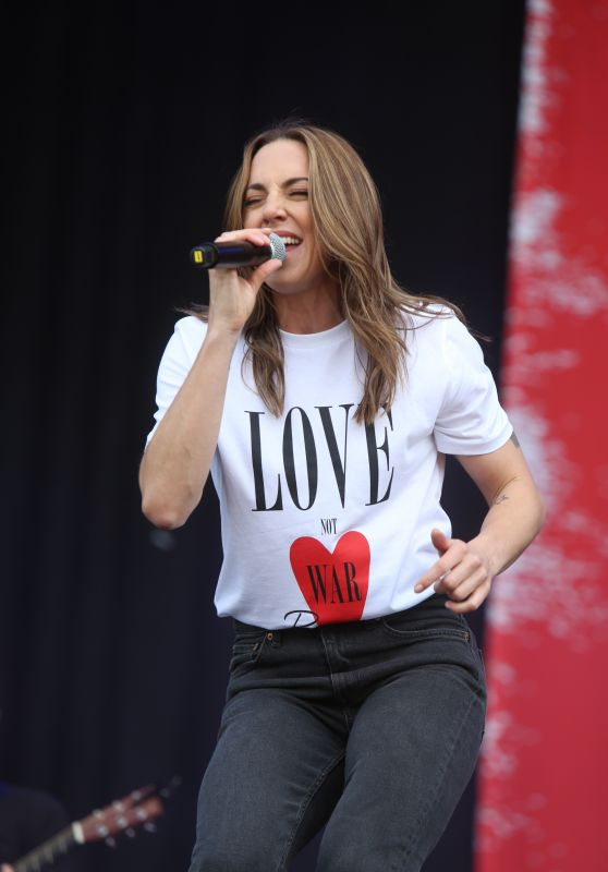 Melanie Chisholm - Performing at Parkpop Festival, June 2018