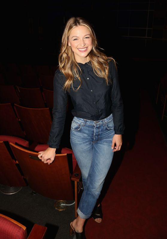 "Melissa Benoist - Broadway Debut In ""Beautiful - The Carole King Musical"" - Press Preview in NYC 06/06/2018"