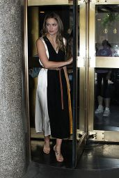 Melissa Benoist - NBC Studios in NYC 06/14/2018