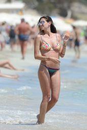 Melissa Satta in Bikini on the Beach in Ibiza 06/08/2018