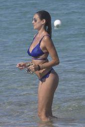 Melissa Satta in Bikini on the Beach in Porto Rotondo 06/18/2018