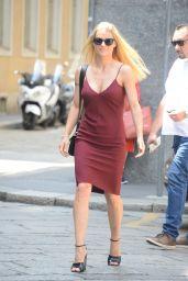 Michelle Hunziker - Out in Milan 06/25/2018