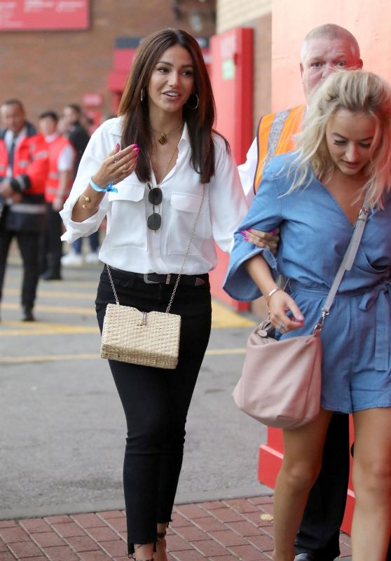 Michelle Keegan - Arrives at Old Trafford in Manchester 10/06/2018