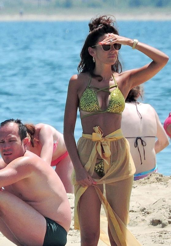 Michelle Keegan in Bikini on the Beach in Majorca 06/22/2018
