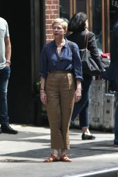 "Michelle Williams - Filming ""After the Wedding"" in New York City 06/11/2018"