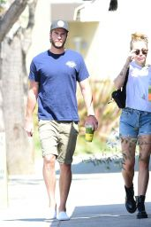 Miley Cyrus and Liam Hemsworth at Alfred