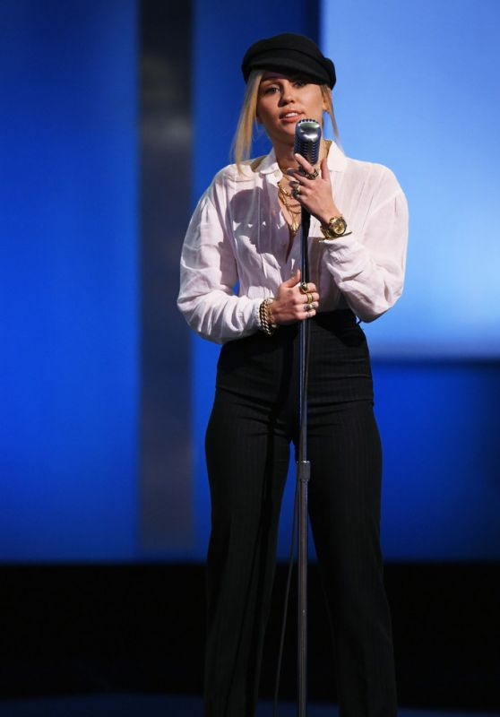 Miley Cyrus Performs Live at 46th AFI Life Achievement Award Gala in LA