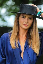 Millie Mackintosh – Investec Derby Festival, Epsom Downs Racecourse 06/02/2018