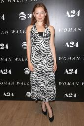 """Mina Sundwall – """"Woman Walks Ahead"""" Special Screening in NY 06/26/2018"""