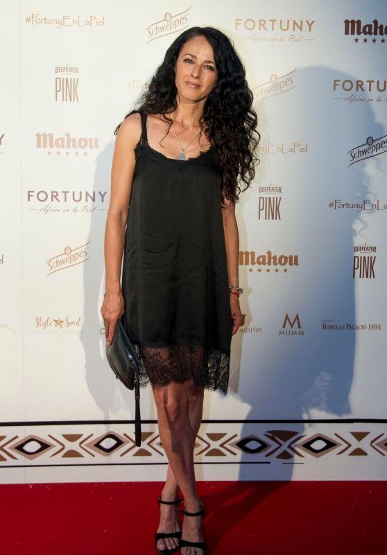 "Monica Estarreado - ""Africa on the Skin"" Gala in Madrid"