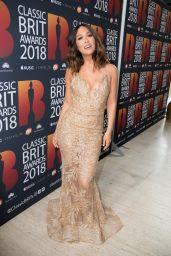 Myleene Klass – 2018 Classic Brit Awards in London